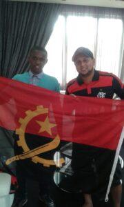 A Angola é rubro-negra!