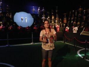 Luiza Parente recebe Sócios-Torcedores no Museu
