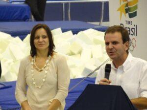 Luisa Parente : otimismo iniciativas da  prefeitura como  o      Ginásio Experimental Olímpico  (Foto:esportes.r7.com/blogs/luisa-parente)