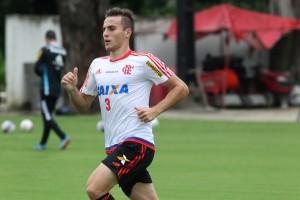 Bressan já retornou da seleção e trabalhou hoje com os demais companheiros. (Foto: Gilvan de Souza-Flamengo)