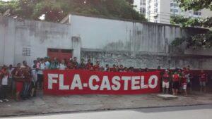 Fla Castelo em peso no Maraca!