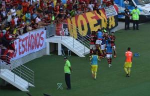 Mengãozinho fez seu dever de doutrinador com crueldade! Gol da vitória veio no fim! (Foto: Cristina Dissat - Fim de Jogo)