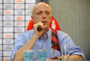 Wallim Vasconcellos, ainda como VP de Futebol (Foto Site Oficial do Flamengo)