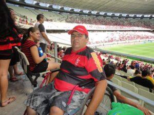 Flamengo x Portuguesa pelo Brasileiro de 2013 - O quinto jogo (Foto: Arquivo pessoal)