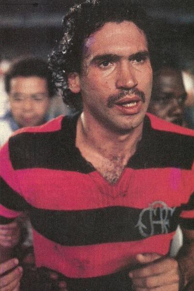 O Deus da Raça, Rondinelli. Um dos imortais da história do Flamengo. (Foto: Flamengo)