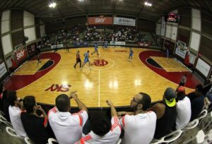 ...o ginásio Hélio Maurício... Foto: Gilvan de Souza/Flamengo