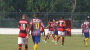 Matheus Sávio era o nosso camisa 10 e principal articulador das jogadas. Foi dele o gol da virada (Foto: Alan Fernandes/MRN)