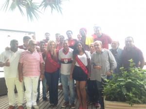 Foto de todos os presentes no evento  (Foto: Rafael Lisboa/ MRN Informação)