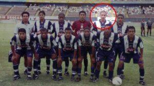 Guerrero iniciando a carreira no Alianza Lima (Foto: Reprodução)