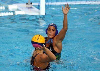 Marina Canetti em ação. Convocada para o Pan de Toronto. (Foto Flamengo)