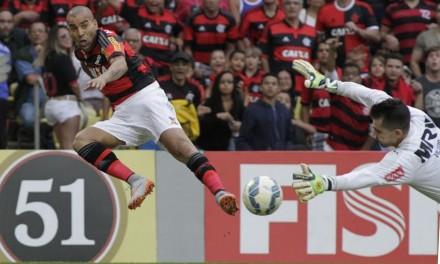 Atuações: Sheik estreia bem, e Samir faz contra; notas de Flamengo 0 x 2 Atlético-MG