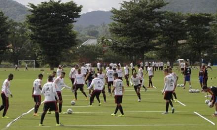 Tarde de portões abertos na Gávea marca semana de treinos pela manhã