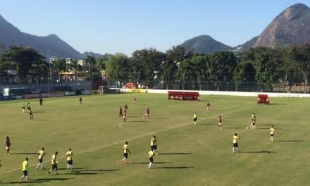 Sub20 sofre primeira derrota na Taça Rio
