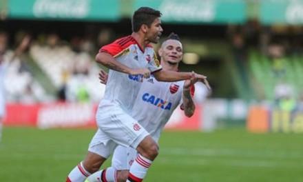 Atuações: Samir é o melhor em campo, Eduardo da Silva decide; notas de Coritiba 0 x 1 Flamengo