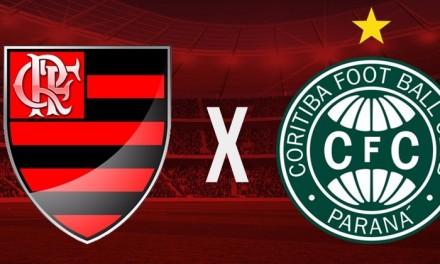 Flamengo enfrenta Coritiba em busca da arrancada