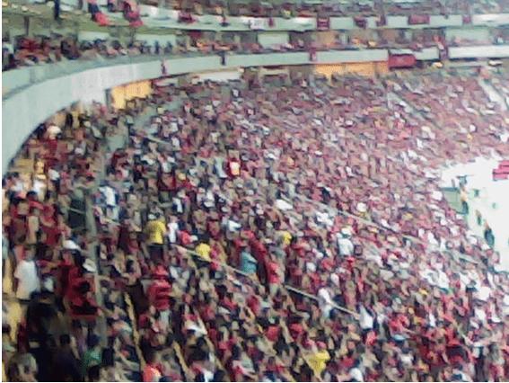 : Flamenguistas lotam a arena Amazônia/Manaus/AM