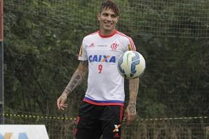 Ele promete sacudir a torcida com gols! | Foto Gilvan de Souza/Flamengo
