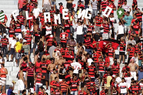 Torcida do Flamengo em número muito superior à do adversário | Foto Gilvan de Souza/Flamengo