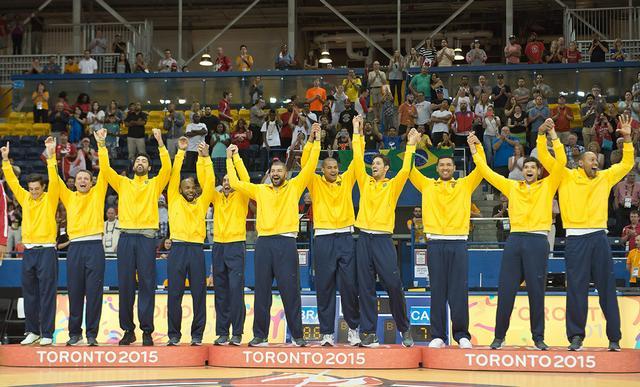 É ouro! Contando o recém integrado JP Batista o Flamengo cedeu três atletas | Foto FIBA Americas