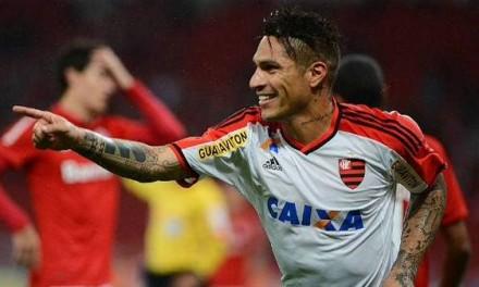 Atuações: Com gol e assistência magnífica, Guerrero estreia e é o melhor em campo; notas de Internacional 1 x 2 Flamengo