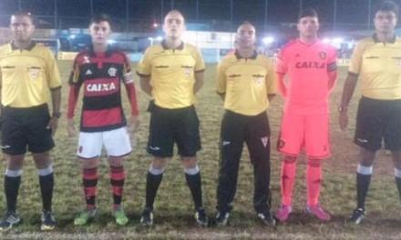 Time Sub-17 do Fla empata com Sport na estreia na Taça BH