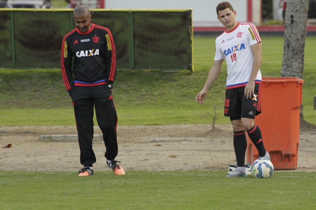 Jonas ainda está se recuperando. Jogador é aguardado para o jogo contra a Ponte | Foto Gilvan de Souza/Flamengo
