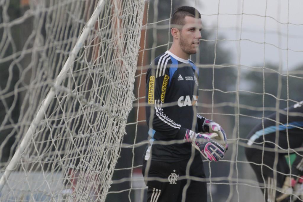 Completamente recuperado, Paulo Victor retorna ao gol do Flamengo. (Foto: Gilvan de Souza-Flamengo)
