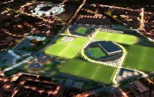 Futuro CT do Manchester City. Coisa de outro mundo.   Foto Reprodução