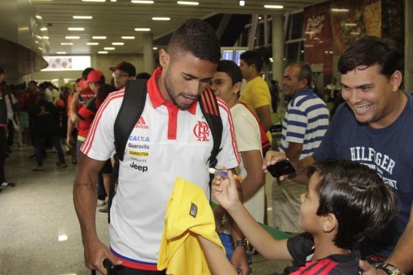 Kayke é a esperança de gols. | Foto Gilvan de SouzaFlamengo