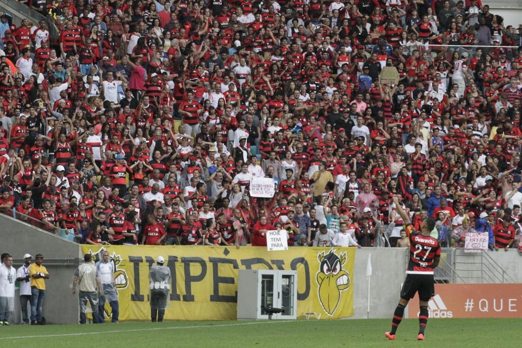 No último domingo, a Nação deu um show no Maraca. (Foto: Flamengo Oficial/Gilvan de Souza)