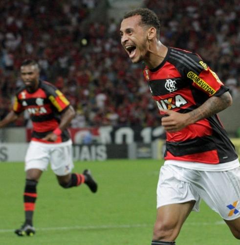 Mais uma vez, Alan Patrick o cara do jogo. (Foto: Flamengo Oficial/Gilvan de Souza)