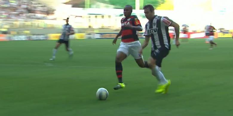 ATUAÇÕES: Primeiro tempo G4, segundo tempo Z4; NOTAS de Atlético-MG 4 x 1 Flamengo