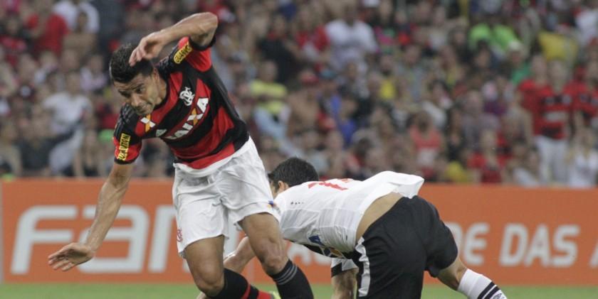 Ederson entrou no segundo tempo e mesmo com a equipe mal conseguiu boa atuação | Foto Gilvan de Souza/Flamengo