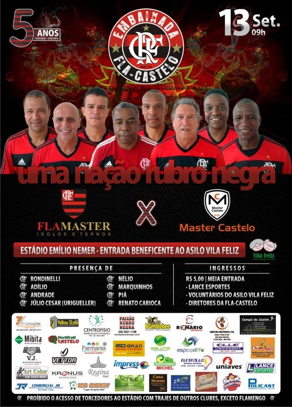 Cartaz - Fla-Castelo 2015