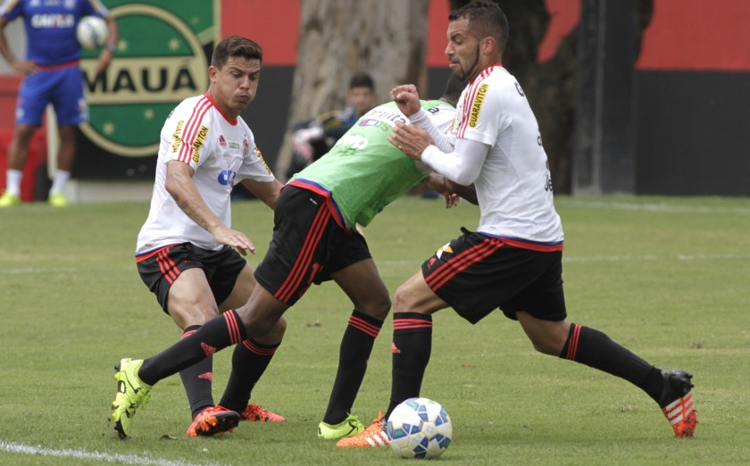 Semana de treino forte | Foto: Gilvan de Souza/Flamengo