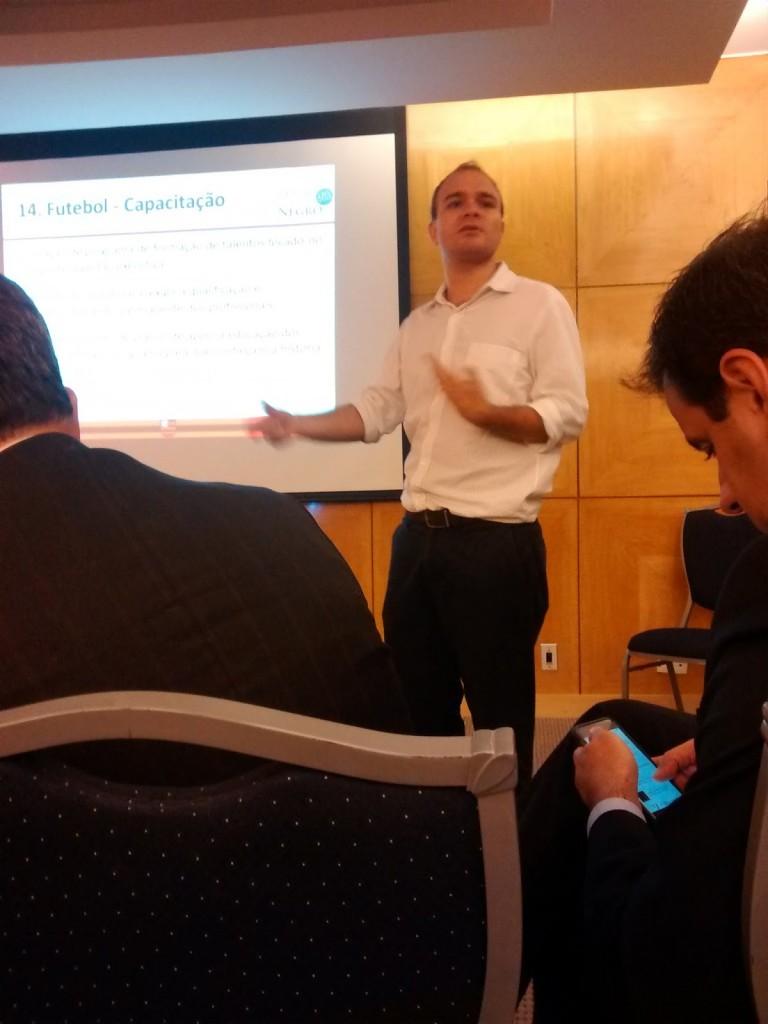 Luis Nogueira fala do futebol