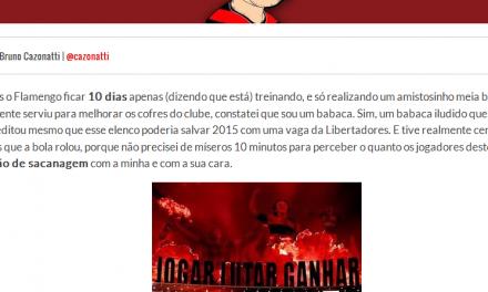 Somos todos babacas, Flamengo.