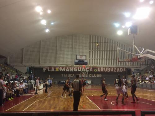 Botafogo x Flamengo se enfrentaram no Tijuca Tênis Clube nessa segunda-feira (19) (Foto: Rafael Lisboa/ MRN Informação)