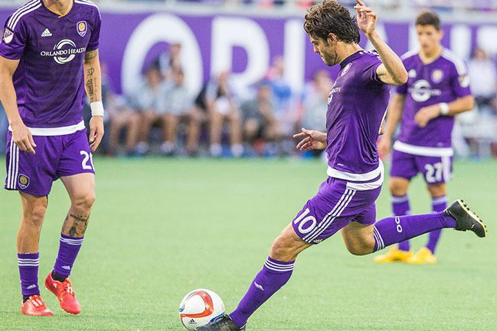 Kaká, estrela do famoso Orlando City. (Foto: Site oficial do Orlando City)