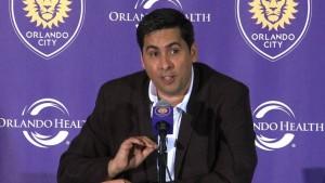 Flávio da Silva, dono do poderoso Orlando City. (Foto: Site oficial da Major League Soccer)
