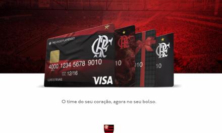 Flamengo firma parceria com Visa e lança cartões pré-pagos de vantagens ao torcedor