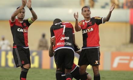 Flamengo x Goiás   Vencer ou vencer