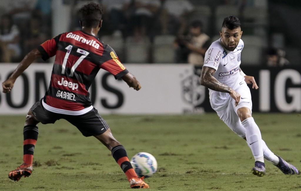 Os melhores de Flamengo e Santos no empate sem gols