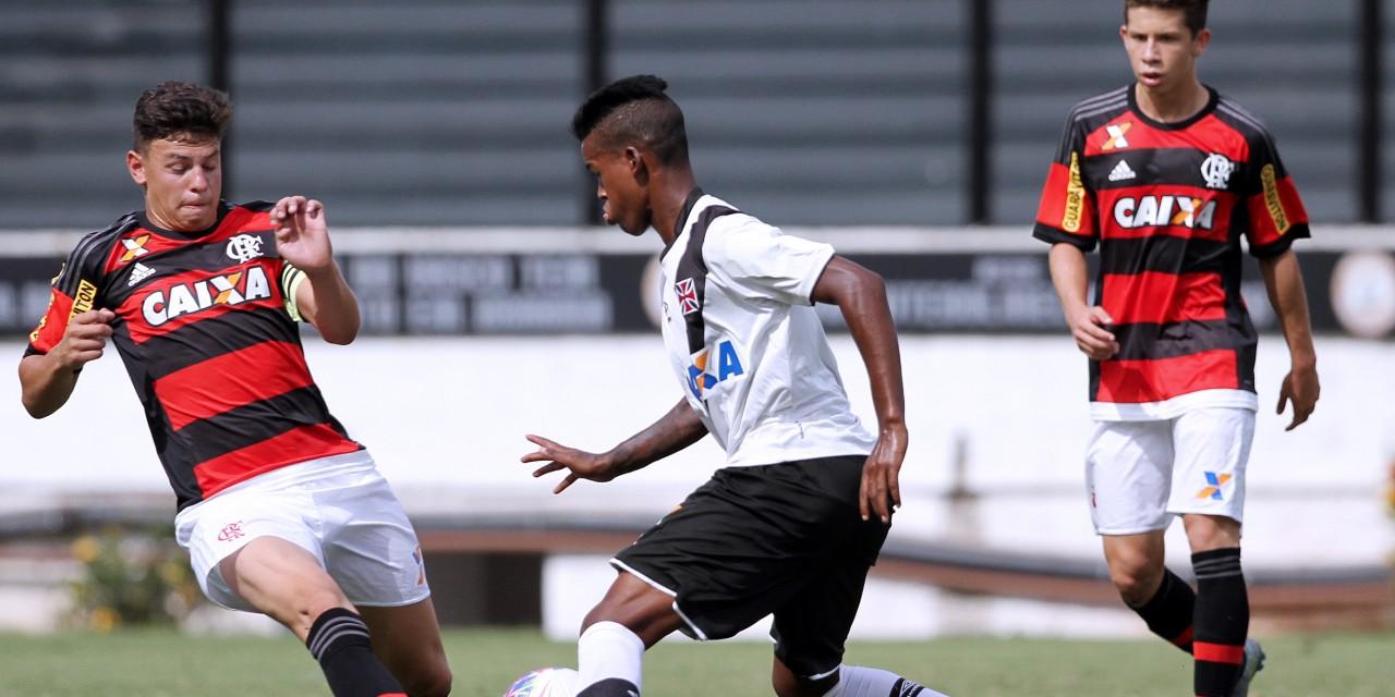 Fla terá que reverter vantagem do rival para ser Campeão Estadual Sub-17