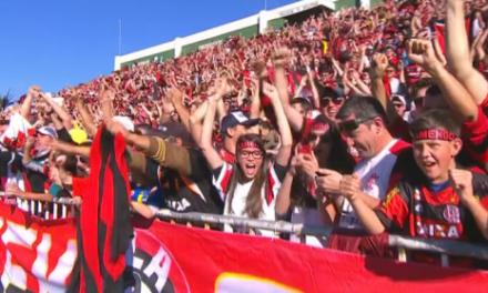 Torcida, não sangre o Flamengo