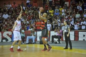 Marquinhos foi o cestinha do Flamengo. Foto: LNB