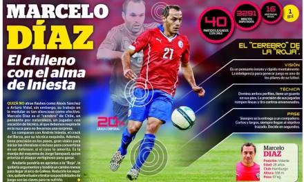 Díaz é um volante superior a qualquer outro do Brasil