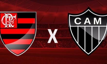 Sem caô, Flamengo vence Atlético-MG no Mineirão