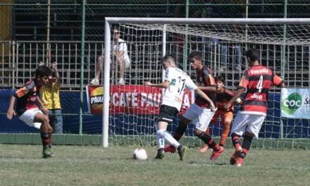 Muito modificado, Fla perde para o Coritiba, mas avança na Copa Brasil Infantil
