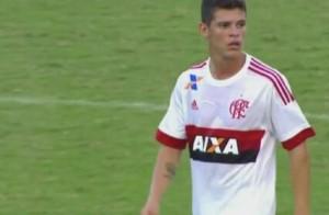 Ronaldo, um dos destaques do Fla no jogo e na Copinha. Foto: Adriano/MRN